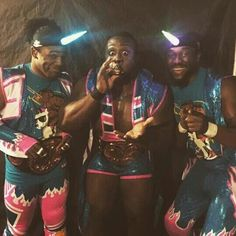 The New Day ( Xavier Woods, Big E & Kofi Kingston )