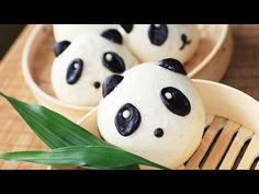 Sweet Panda Mantou Recipe / Sweet buns /甜馒头 - YouTube