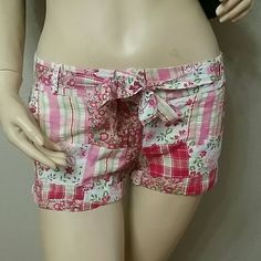 NWOT Really Cute 100%cotton Colorful Summer Shorts Brand new light 100% cotton summer shorts. 2 pockets in front, Made in India Raviya Shorts