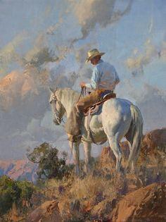 "''Southwest Serenade'', oil, 24"" x 18"""