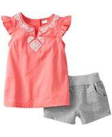 Carter's Baby Girls' 2-Piece Tank & Shorts Set