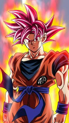 Goku's KaioKen in Dragon Ball - How does the Kaioken work in Dragon Ball while Goku uses it and What are the Pro's and Con's of using while in battle. Dragon Ball Image, Dragon Ball Z, Goku Dragon, Dragonball Goku, Dbz Wallpapers, Goku Wallpaper, Ball Drawing, Art Anime, Naruto