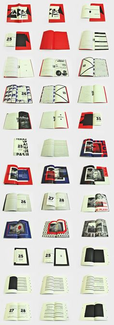 Crime and Punishment by Martyna Wędzicka #print #editorial #design