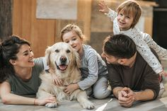 View top-quality stock photos of Happy Family Relaxing With Their Retriever At Home. Find premium, high-resolution stock photography at Getty Images. Adhd Kids, Children With Autism, Companion Dog, National Institutes Of Health, Happy Family, Meeting New People, Guinea Pigs, Dog Cat, Wellness