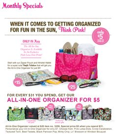 May Special!  thirtyonegifts.com  email: chelcangelee@gmail.com for ordering information