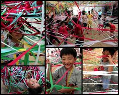Cheekiemonkies are all tangled up! | Singapore Arts Festival 2012