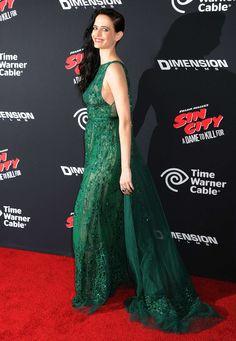 eva green Actress Eva Green, Roman Dress, Prom Dresses, Formal Dresses, Celebs, Celebrities, Fashion Addict, Green Dress, Evening Gowns