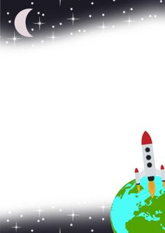 20 Awesome free outer space border clip art Clip art