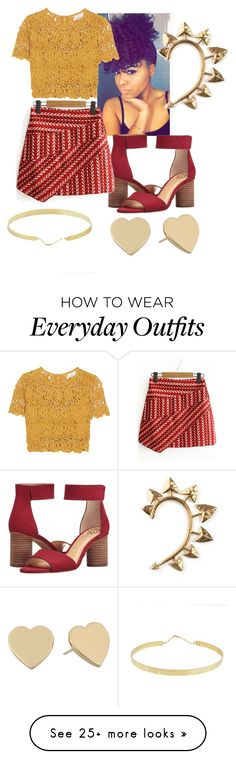 """""""summer"""" by tate-mafa on Polyvore featuring Vince Camuto, Miguelina, Lana, Kate Spade and Rachel Entwistle"""