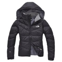 The North Face Women Down Jacket Black