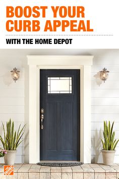 Front Doors - Exterior Doors - The Home Depot Front Door Molding, Home, House Front, House Exterior, House Doors, Exterior House Colors, Exterior Front Doors, New Homes, Front Door
