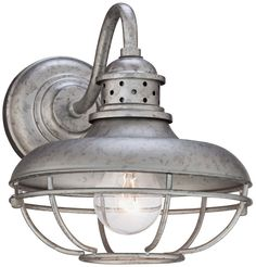 http://www.amazon.com/Franklin-Park-Steel-Outdoor-Light/dp/B00J4M224W/ref=sr_1_2?s=lawn-garden&ie=UTF8&qid=1406225118&sr=1-2&keywords=galvanized+light+fixtures