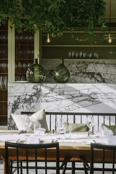 〚 Muted luxury: country hotel Heckfield Place in England 〛 ◾ Photos ◾Ideas◾ Design Country Hotel, Country House Hotels, Decoration Restaurant, Restaurant Design, Pub Decor, Modern Restaurant, Restaurant Guide, Luxury Home Decor, Cheap Home Decor