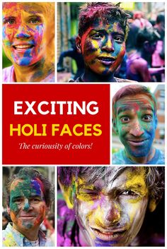 Exciting Faces of Holi Festival of Colours