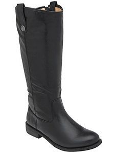 Wide calf equestrian boot by Lane Bryant    YES PLEASE!!!!!