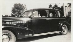 1937 (1938?) BUICK 90-L Limousine PUC #1265 Taxi Livery