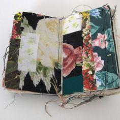 fabric sketchbook by Alison Worman http://www.alisonworman.com/SKETCHBOOKS