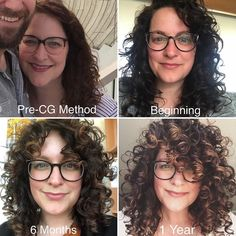 I'm just going to leave this here. I'm so happy I started taking progress photos! Anytime I hit a… Curly Hair With Bangs, Curly Hair Tips, Curly Hair Care, Long Curly Hair, Hair Dos, Curly Hair Styles, Natural Hair Styles, Style Curly Hair, Natural Wavy Hairstyles