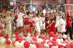 Zac Efron, Vanessa Hudgens Back Together for 'High School Musical Troy Bolton, High School Musical Cast, High School Dance, School Dances, Disney Channel, Zac Efron, Vanessa Hudgens, Monique Coleman, Troy And Gabriella