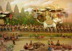 Ancient History, Art History, Cambodian Art, 1 Century, Angkor Wat Cambodia, Khmer Empire, Elephant Design, Southeast Asia, Thailand