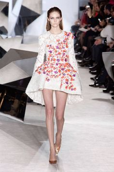 It is important for fashion designers to show off their work, if not then what's the point of being a fashion designer?