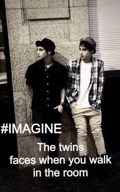 Jai and Luke imagine