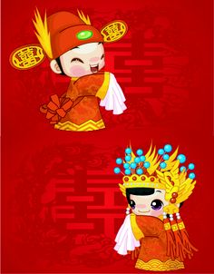 Vector Chinese Bride And Groom Eps Blog