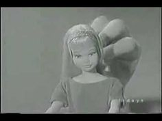 1964 First EVER Skipper Barbie's Little Sister Commercial