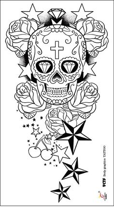 Star Tattoo Designs Tattoos Arm Adult Coloring Pages Skull Piercings Ideas Peircings
