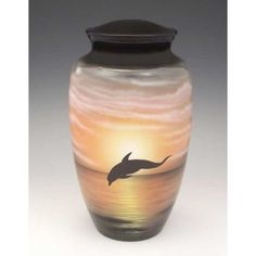 Urns for Ashes | Playful Dolphin Cremation Urn