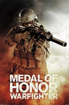 Medal of Honor Warfighter Prints from AllPosters.com