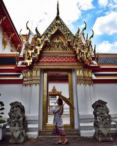 Wat Pho | Bangkok, Thailand Reclining Buddha, Wat Pho, Girls Love Travel, Thai Art, Explore Travel, Travel Channel, Bangkok Thailand, My Ride, Southeast Asia
