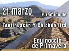 suenamexico.com » lo que nos suena y no suena de México » Equinoccio de Primavera en México: Teotihuacán y Chichén Itzá