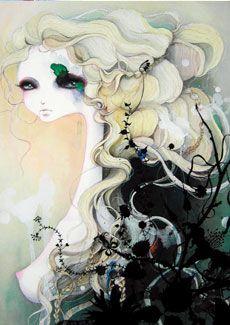 ...curly waves.  --- Mari Kubota