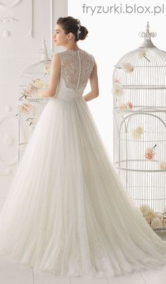 waciki: Zwiewne suknie ślubne / Airy wedding dress 2014, 2015