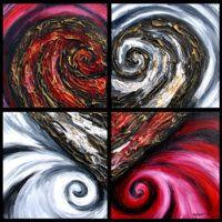 Heart Art...deviantArt