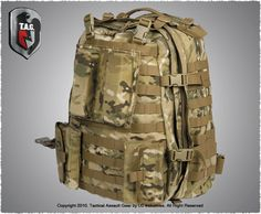 Tactical Assault Gear's Sniper Pack.  Seriously, the perfect bag.  Tons of room and will last through anything.