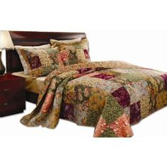 #5: Greenland Home Antique Chic Full/Queen Quilt Set