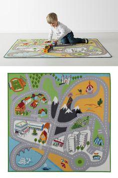 10 alfombras infantiles para jugar 1 alfombra tapete de juegos lillabo en ikea alfombras - Alfombras infantiles en ikea ...