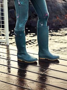 Helly Hansen rain boots. Photo by Anders Holmberg