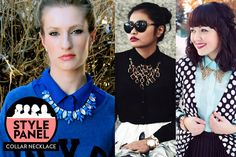 necklace outside the shirt | How to wear a collar necklace: 7 Style Panel tips on how to get this ...
