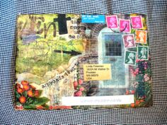 artistic envelopes | ... beautiful mail art envelope from joanna joanna lives in england