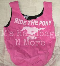 Upcycled Tshirt Bag/Beach Tote/Reusable by MsHandbagsNMore on Etsy, $12.00