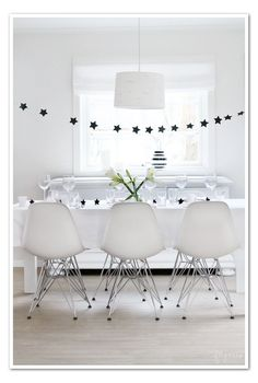 hanging table decor