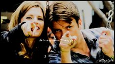 Stana Katic & Nathan Fillion | The centre of the universe. This is awesome, they're the absolute cutest.