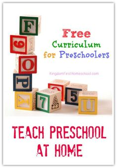 Every mom should have the option to teach their preschoolers at home. Here is a list of free curriculum for Preschoolers that can make that dream become a reality.