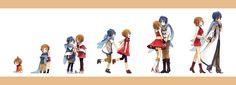 Tags: Fanart, Vocaloid, KAITO, MEIKO (Vocaloid), Pixiv, Akiyoshi, Fanart From Pixiv