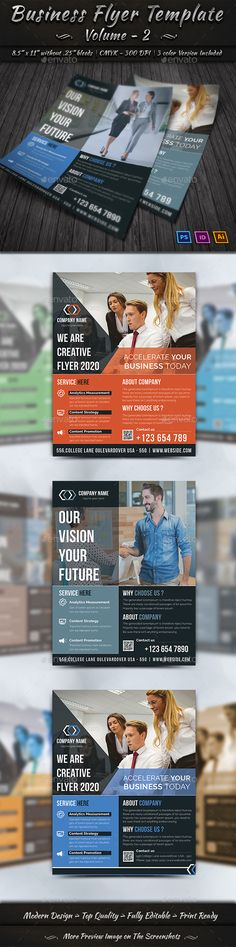 Business Flyer Template | Volume - 2 - Corporate Flyers