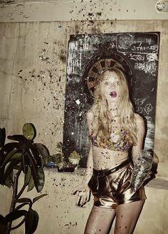 #metallic #glitter
