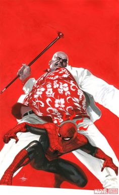 Get a first look at the new Spider-Man original graphic novel by Mark Waid…